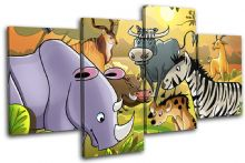 African Animals For Kids Room - 13-2130(00B)-MP04-LO